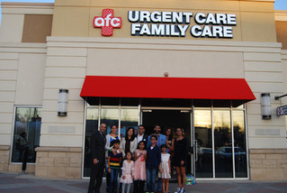New AFC Urgent Care Openings
