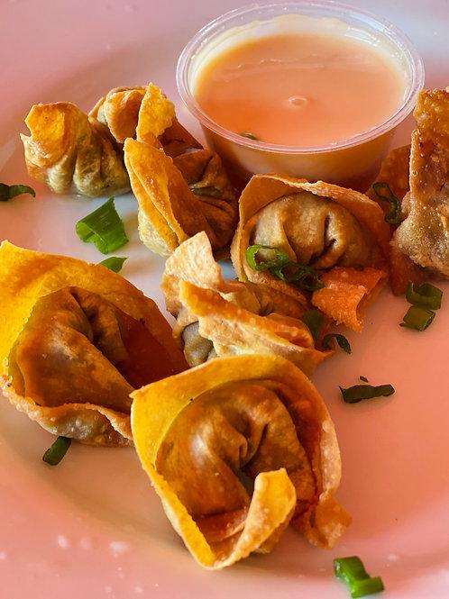 Wonton frits aux légumes