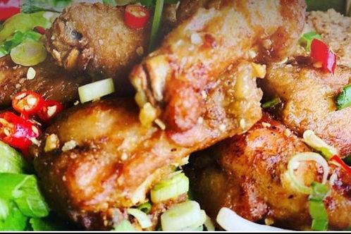Ailes de poulet à la sauce poisson Viet (8)/Vietnamese fried chicken wings