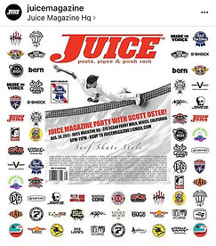 _juicemagazine Surf Skate & Style Party