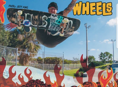 JON MILSTEAD FEATURED IN THRASHER