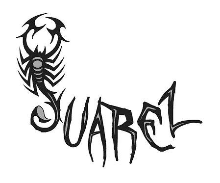 Niki Red Juarez Scorpion Sticker COMING SOON