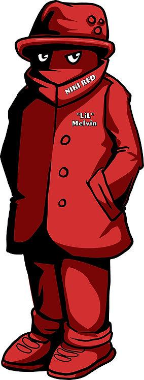 """LiL"" Melvin Sticker"