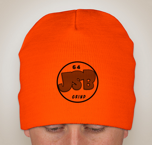 Orange JSB Beanie