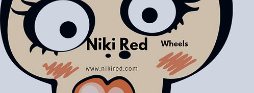 Niki Red  Rat Bag #1 Sticker