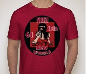 Niki Red Sexy Thief Tee