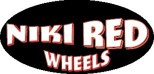 Niki  Red Sticker Black & Red