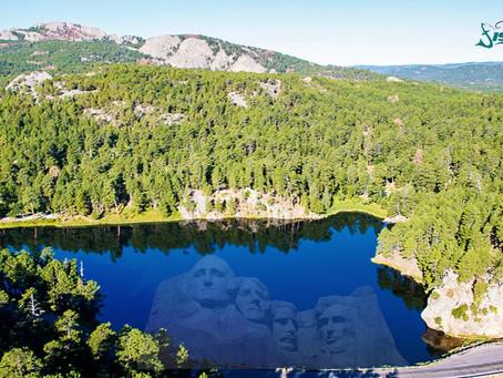 Fishing Mount Rushmore!