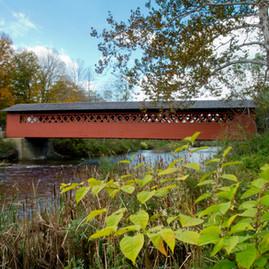Wooden Covered Bridges (The Kissing Bridges) - East Coast
