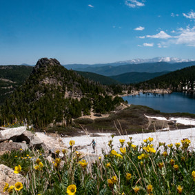 St. Mary's Glacier to Rock House/Loch Lomond Lookout - Arapaho National Forest, Colorado