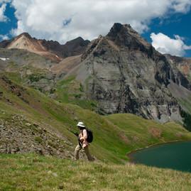 Hiking near Ouray – North San Juan Mountains, Colorado