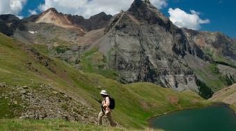 Hiking near Ouray – North San Juan Mountains, Colorado