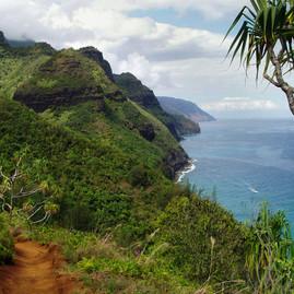 Hiking in Kauai, Hawaii