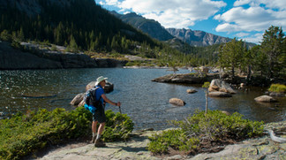 Hiking to Mills Lake, Jewel Lake and Black Lake - Rocky Mountain National Park, Colorado