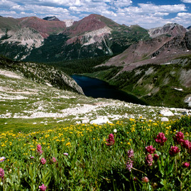 Hiking in Maroon Bells - Snowmass Wilderness – White River National Forest, Colorado