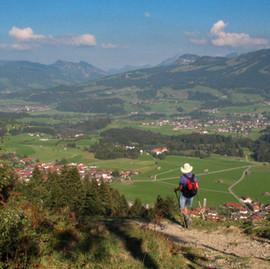 Hiking in Oberstdorf - Bavaria, Germany
