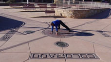 Four Corners Monument (Four Corners Tribal Park) - Arizona, Colorado, Utah, New Mexico