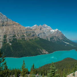 Banff National Park (Bow Lake, Peyto Lake & Lake Minnewanka) - Canada