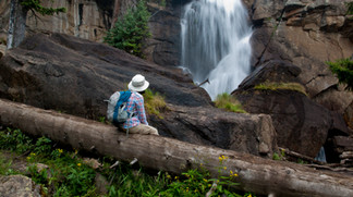 Hiking to Ouzel Falls – Wild Basin Area, Rocky Mountain National Park, Colorado