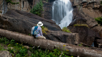 Hiking to Ouzel Falls – Wild Basin Area, Rocky Mountain National Park, Colorado