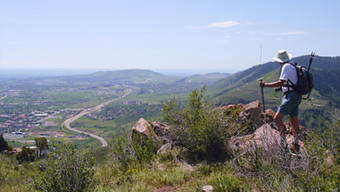 Hiking in Mt. Galbraith Park - Jefferson County, Colorado