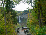Hiking at Taughannock Falls - Finger Lakes Region, New York