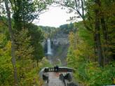 Hiking at Taughannock Falls - Finger Lakes Region, New York