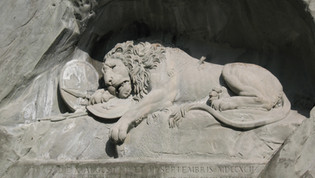 The Lion Monument, Luzern