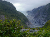Short Hike/Tramping to Franz Josef Glacier, New Zealand
