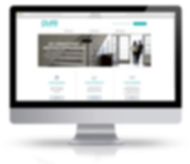 pure insurance website mobile online design art direction graphic advertising landing page andrea steuer