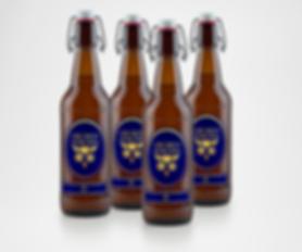 art director beer bottle new artisanal brand branding andrea steuer label