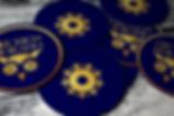 art director beer brewery design new artisanal brand branding andrea steuer coasters