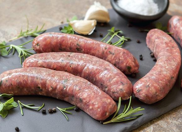 Beef Sausage - 4 per pack