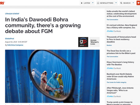 In India's Dawoodi Bohra Community, There's a Growing Debate about FGM