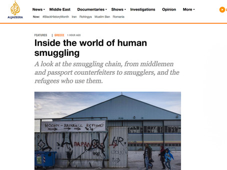 Inside the world of human smuggling