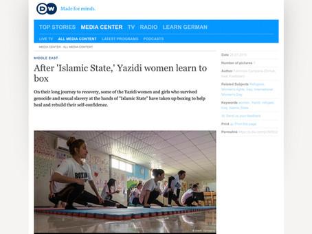 After 'Islamic State' Yazidi women learn to box