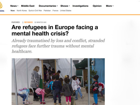 Are refugees in Europe facing a mental health crisis?
