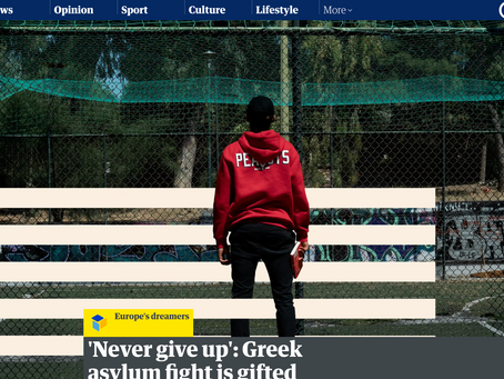 'Never give up': Greek asylum fight is gifted student's hardest lesson