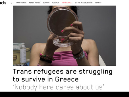Trans refugees are struggling to survive in Greece