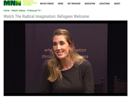 Watch The Radical Imagination: Refugees Welcome