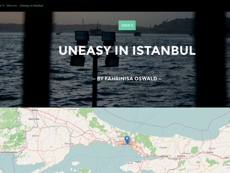 Unmapped Issue 9: Uneasy in Istanbul