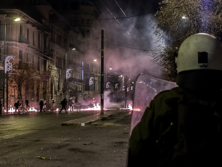 Athens Polytechnic Uprising, Athens, Greece, 2016
