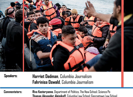 The Refugee Crisis: Dispatches from Lesvos - The New School Lecture