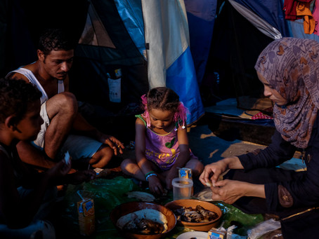 Blog post: In Athens, Refugees Celebrate Eid in Dire Conditions