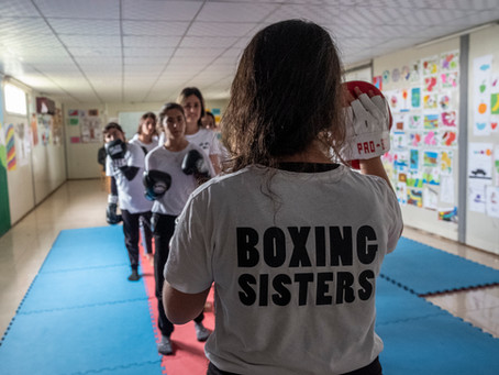 After 'Islamic State,' Yazidi women learn to box
