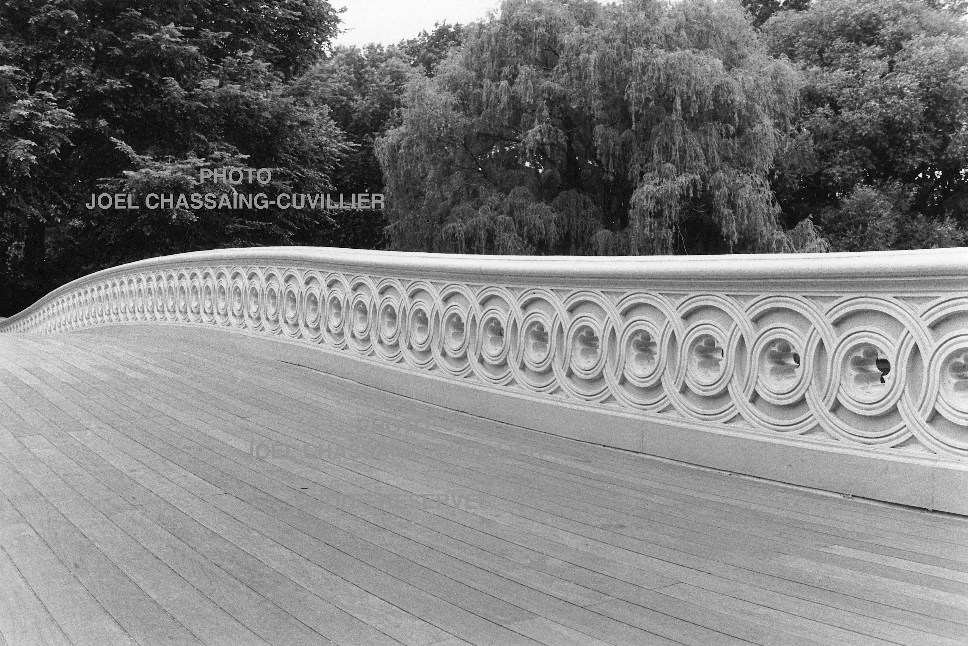 Bow Bridge detail