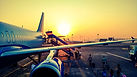 photography-of-airplane-during-sunrise-7