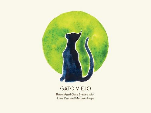 Gato Viejo Barrel-Aged Gose 5.6% (750mL Bottle)