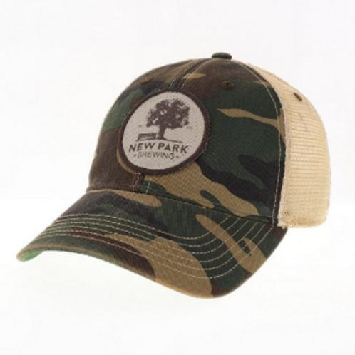 Camo Patch Hat