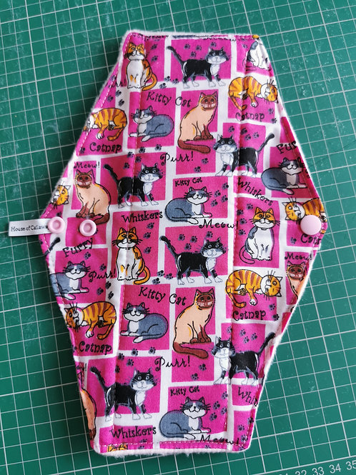 Pink Cats Heavy Pad